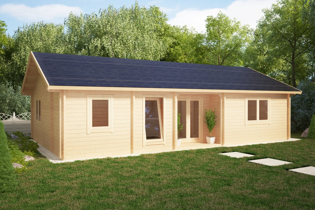 Two Bedroom Summer House Dune 70m2 70mm 12 X 6 M