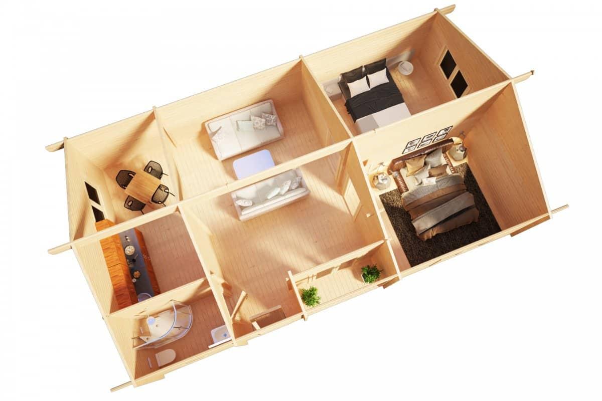 Two Bedroom Summer House DUNE