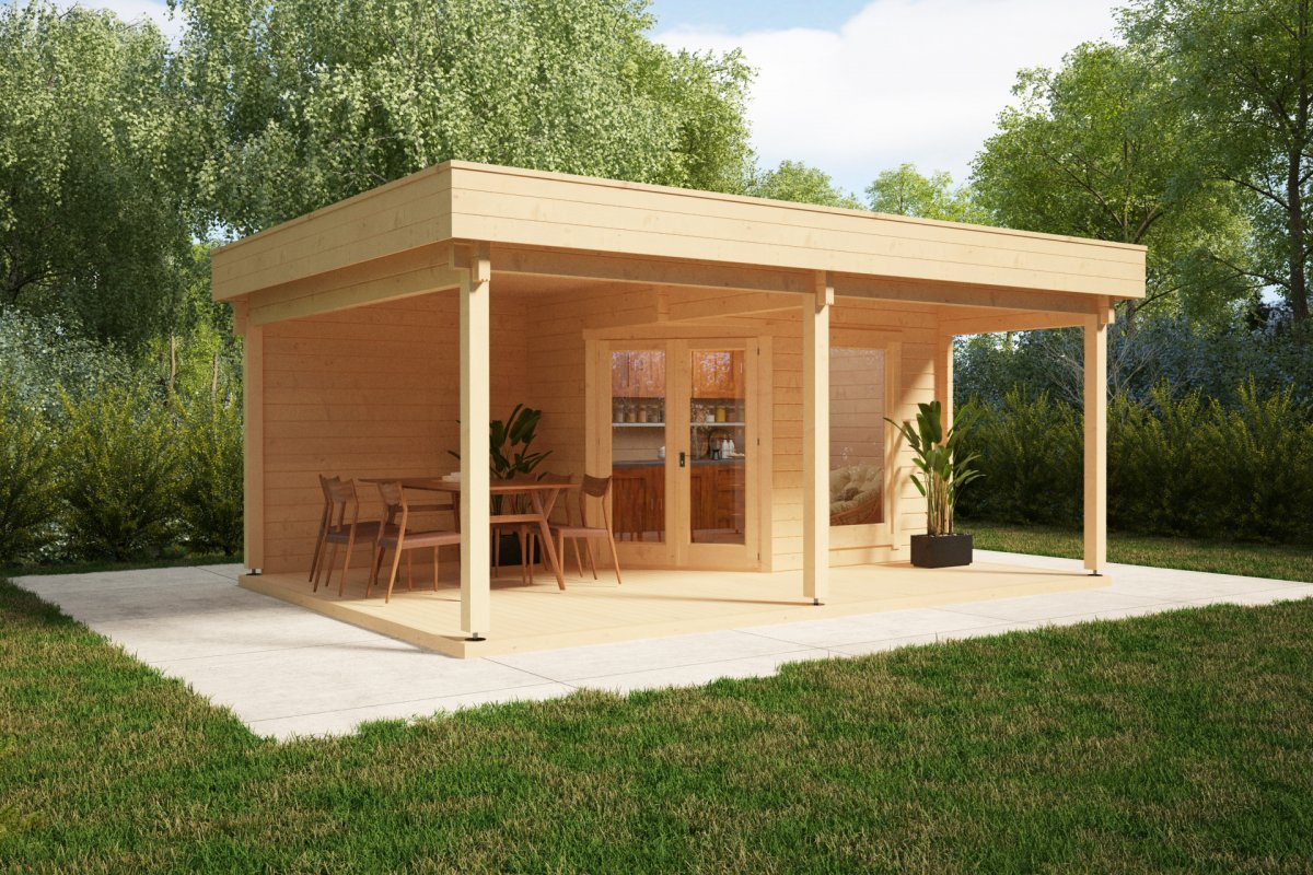 Garden Room With Big Terrace And Canopy Remo 3 6m2