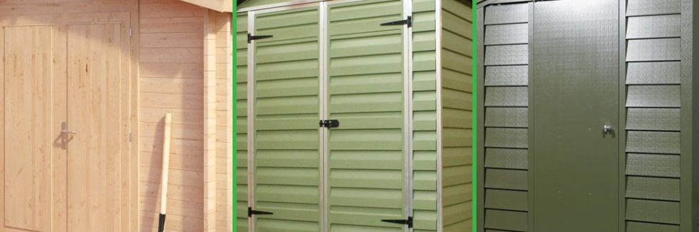 Which Material is The Best Choice for Your Shed?