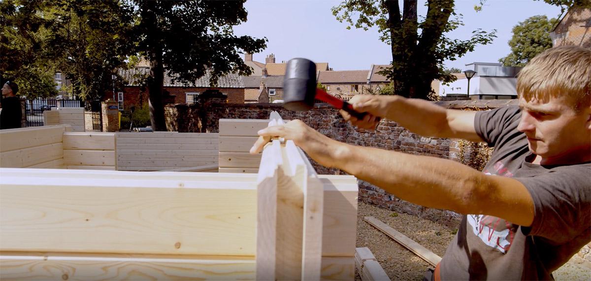Building a Wooden Log Cabin in 10 Easy Steps