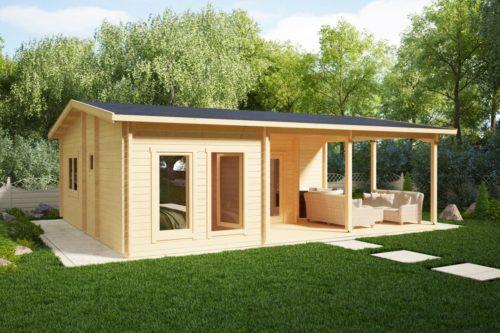 Holiday Cottage Log Cabin Hansa Holiday B
