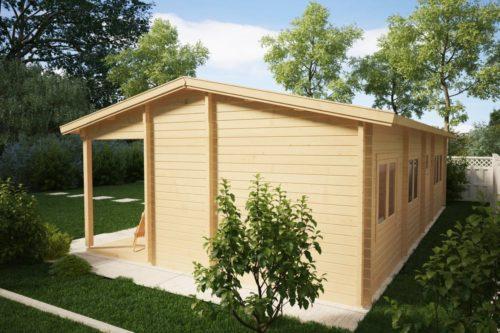 Large Log Cabin Summer House Hansa Holiday C