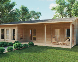 Two Bedroom Timber Lodge Holiday C