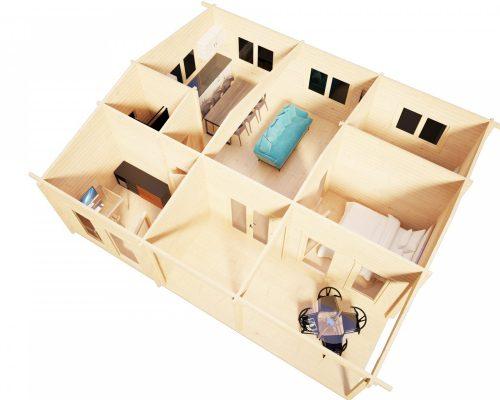 Three Bedroom Weekend Cottage Hansa Holiday D