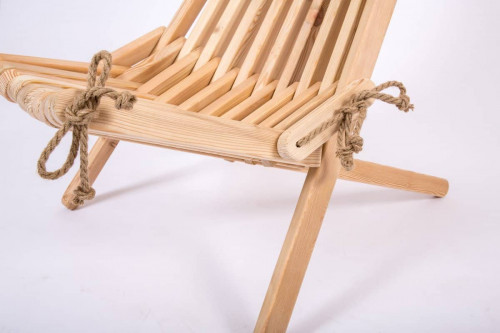 Siberian larch chair