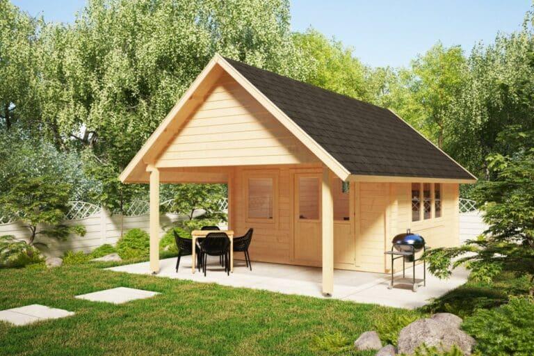 Garden Log Cabin Mark
