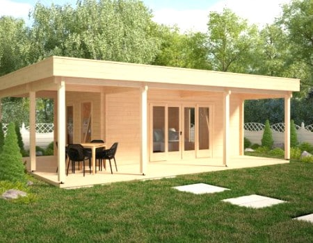 How can you build a functional wooden garden room easily for Best garden rooms uk