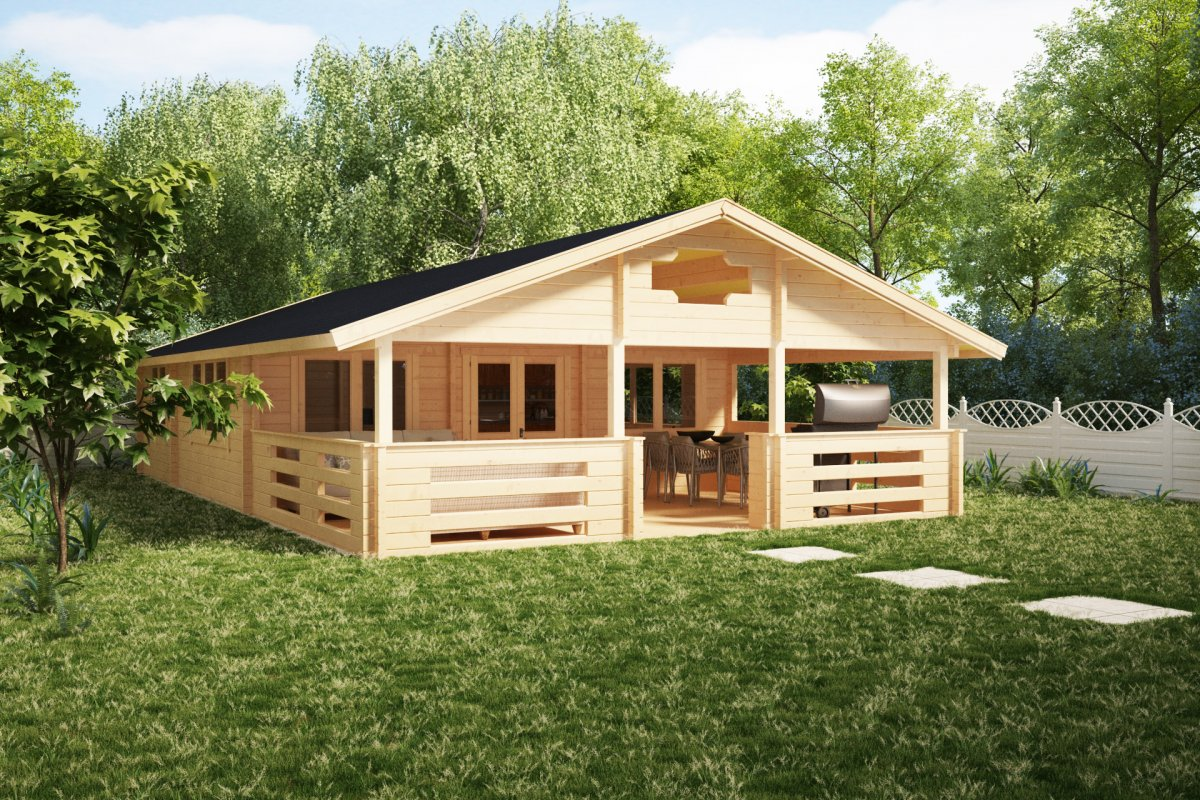 Two Bedroom Log Cabin Holiday