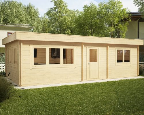 One Bedroom Log Cabin Holiday 40m2 / 70mm / 4,5 x 9 m
