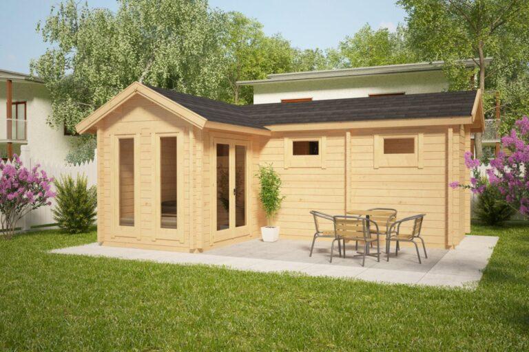 Timber Sauna Cabin Oliver III