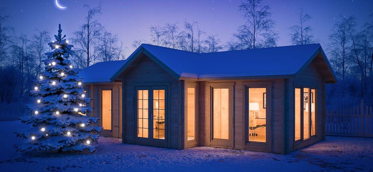 summer house lighting. Some Ideas For Christmas Decoration On The Summer House Lighting U