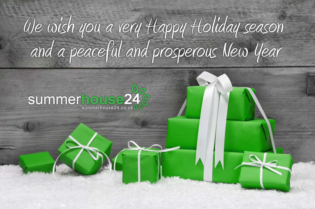 We wish you a very Happy Holiday season and a peaceful and prosperous New Year!