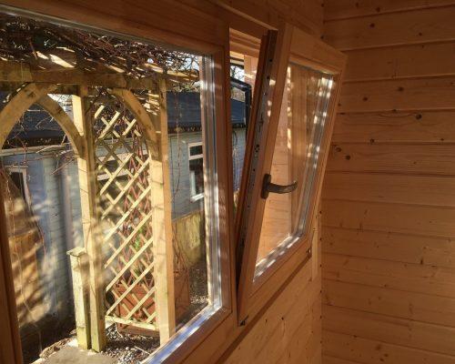Garden Sauna Cabin Finland in Devon