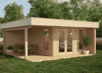 A Garden Office Is A Great Way To Create Your Own Workspace In The  Inspiring Background Of Your Own Garden, A Way To Make Some Room In Your  Home If You Had ...