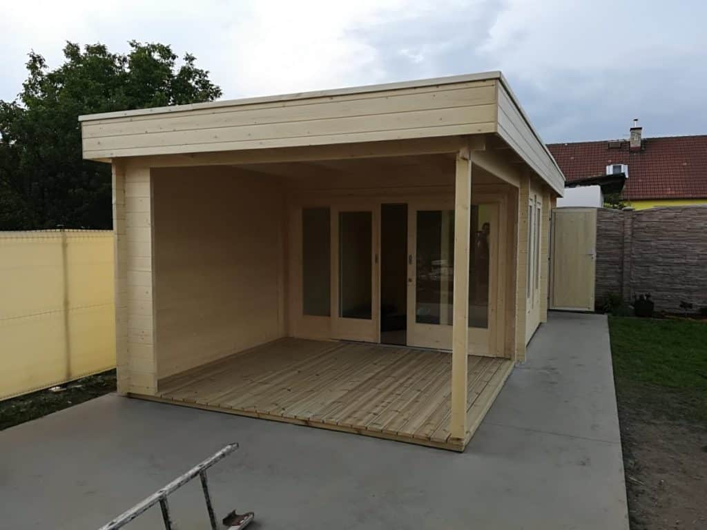 Building a Garden Room with Storage Room and Veranda Super Lucas E