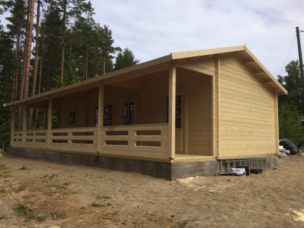 Two Bedroom Guesthouse Bespoke Cabin