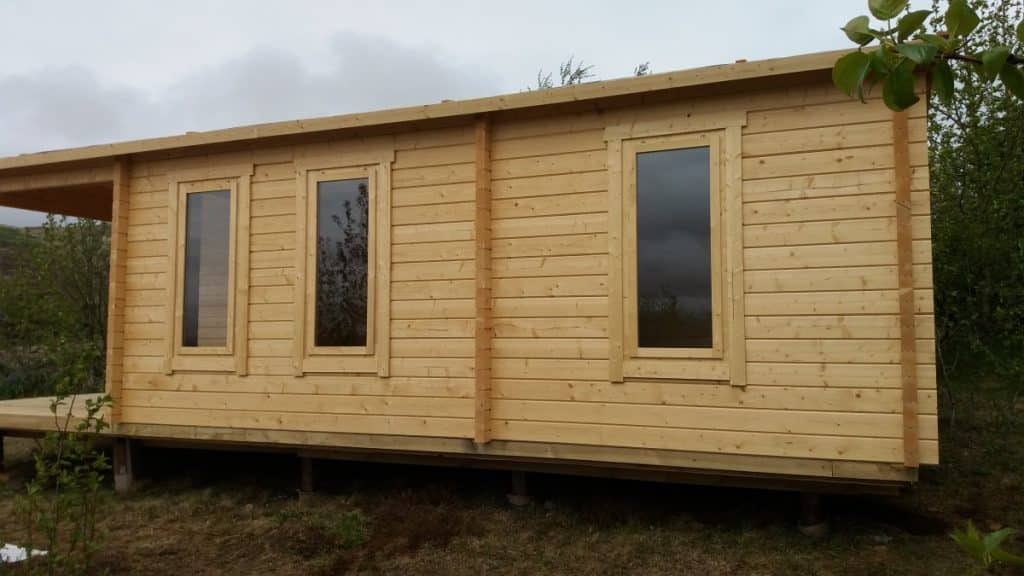 See our Log Cabins used As Holiday Rental Cabins in Iceland 3