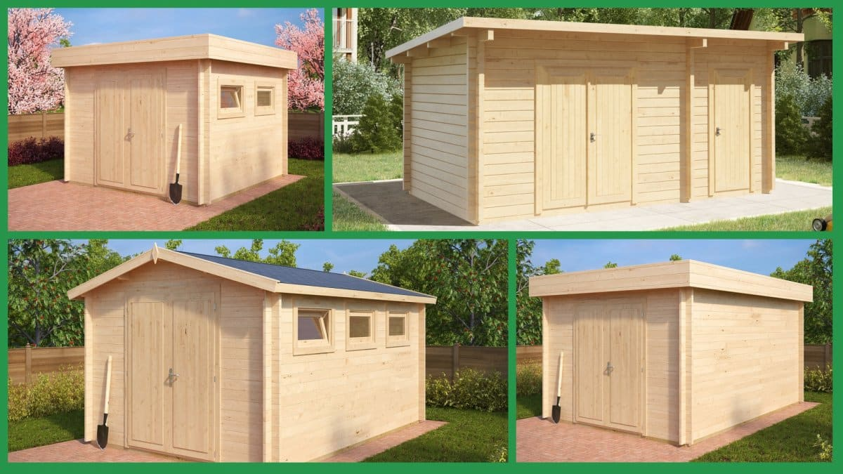 Maintenance of the Garden Storage Shed – Summer House 24