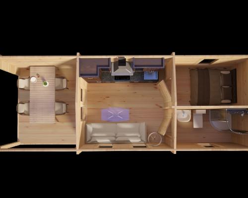 Hansa Holiday Camping Cabin 3