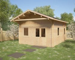 Summerhouse with sleeping loft Gotland C
