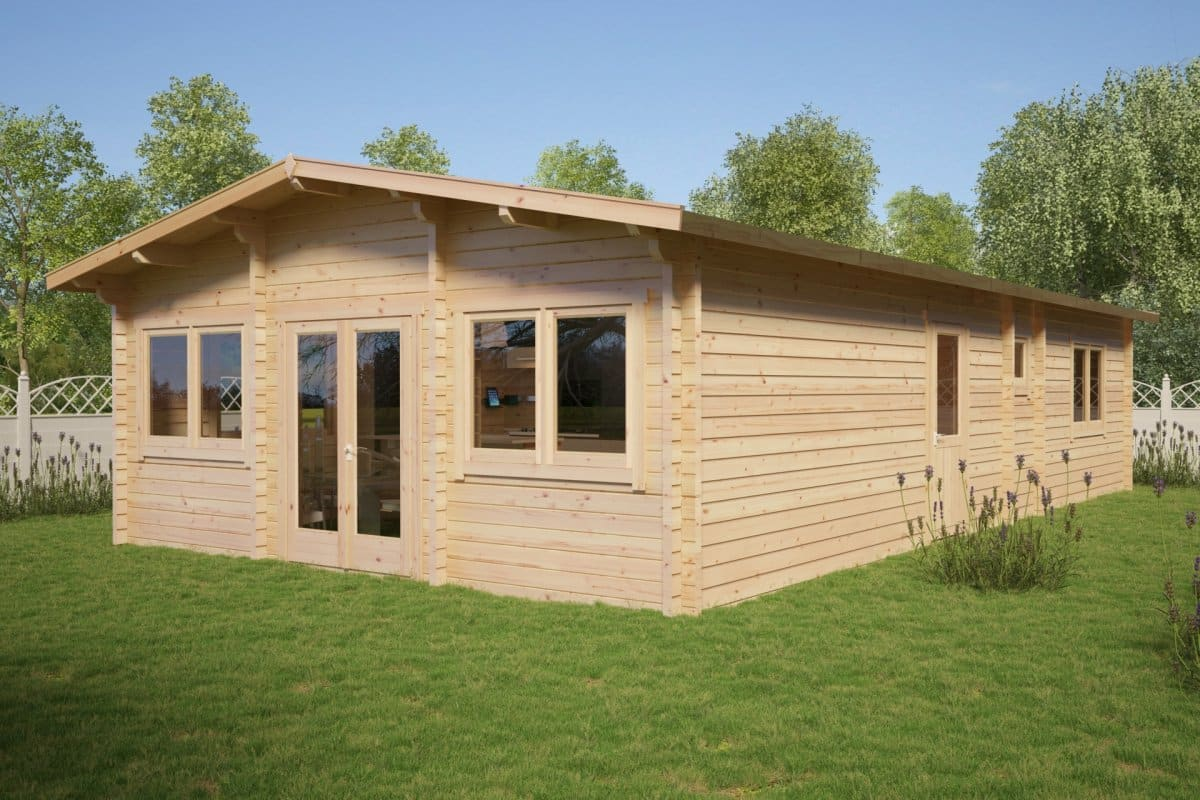 Large Wooden Lodge with two bedrooms Valencia