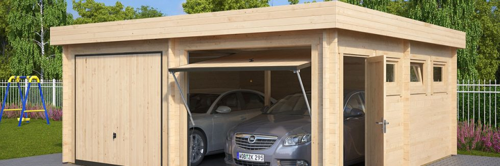 Wooden Double Garages – A Worthwhile Investment