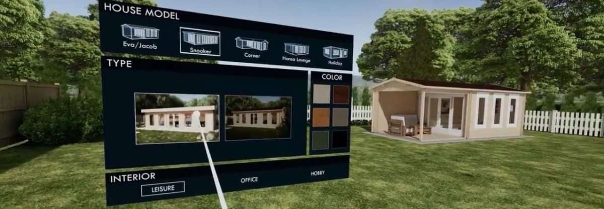 Summerhouse24 has launched a fully interactive showroom in virtual reality