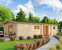Wooden Lodge with Two Bedrooms Murcia 47m2