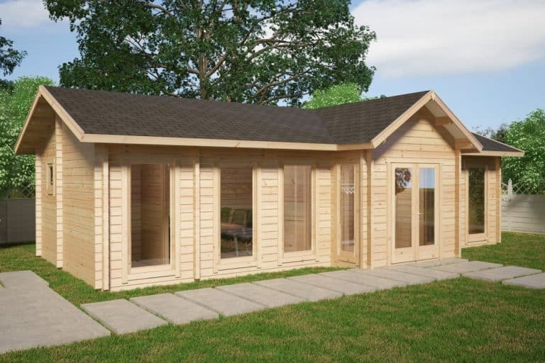Large Timber Office