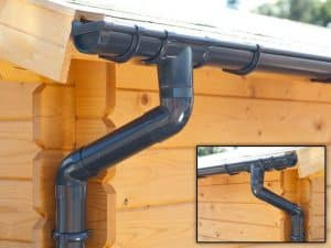 PVC Guttering Anthracite