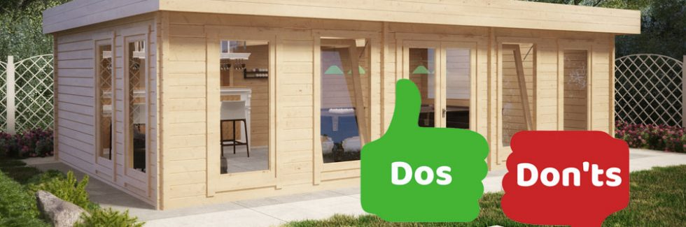 Dos and Don'ts for the Perfect Wooden Summer House