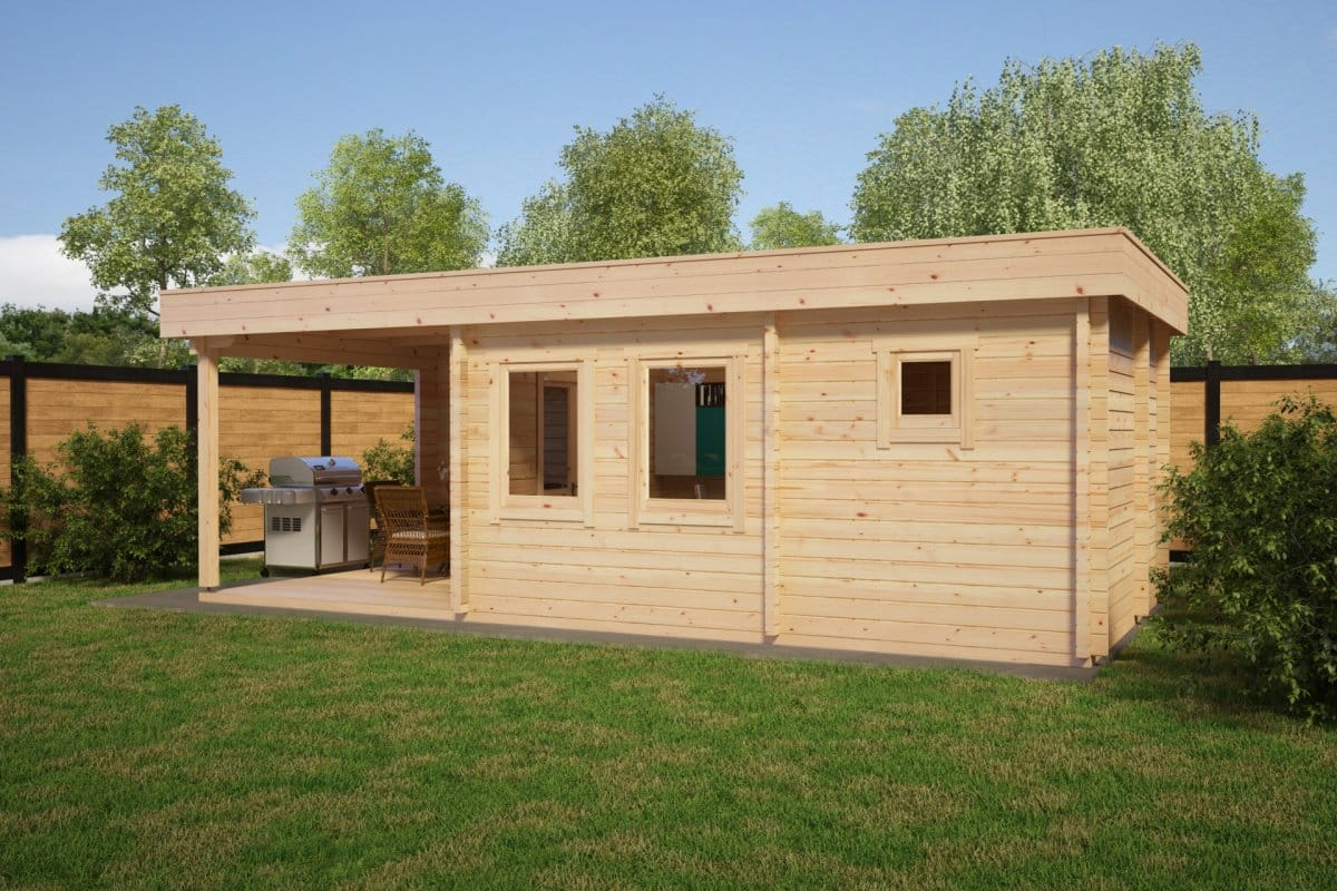 Lucas E Sauna Cabin