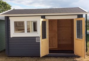 Summerhouse24 garden building display site in Leeds