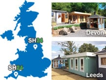 Summerhouse24 display sites in UK