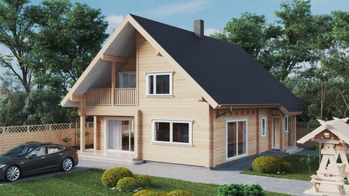 Log cabin home Hansa 170