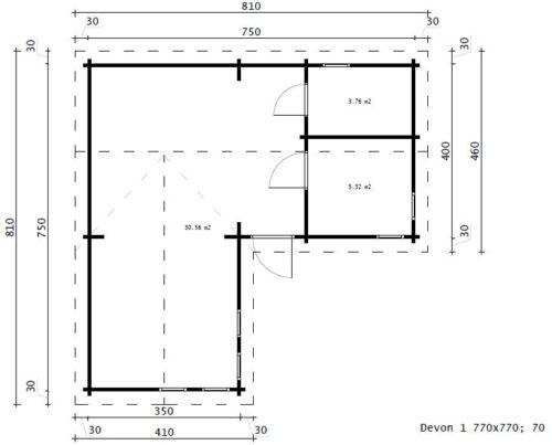 Devon 1 ground plan