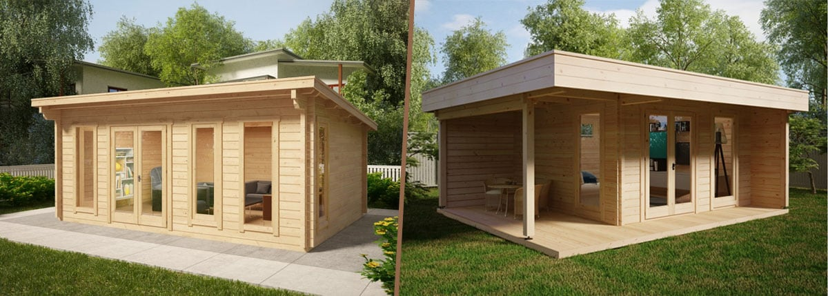 Make an Outdoor Office Space in Your Own Yard for an Extra Relaxing Working Experience