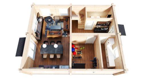 Log home Hansa-122