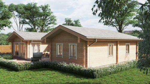 Log cabin home Tania-120