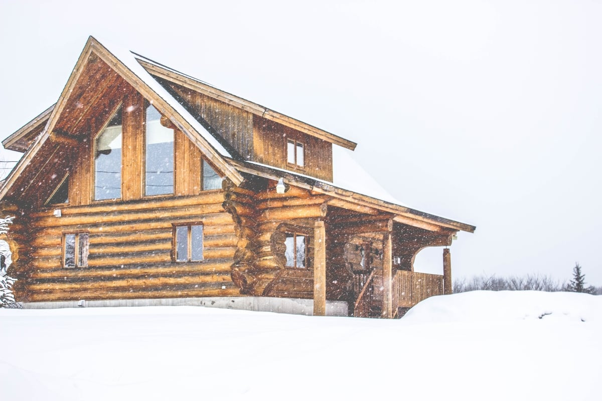 Cozy Log-Home Living: 5 Tips for Winter-Proofing Your Home