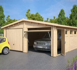 Wooden Garages and Carports