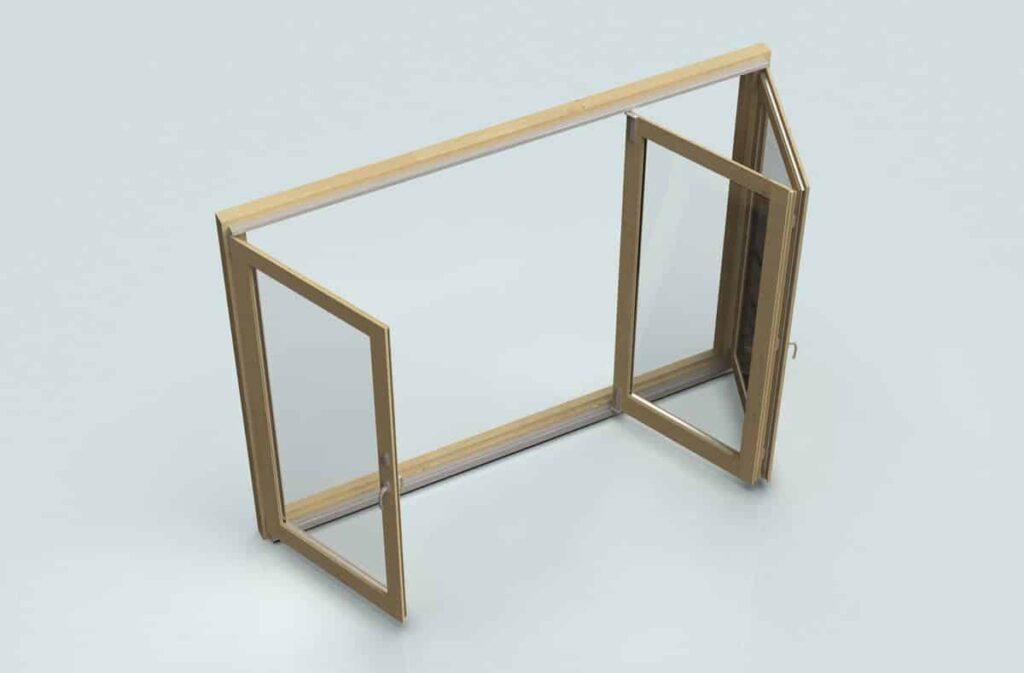 Premium folding door