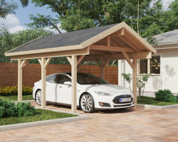 Wooden Carport Henley