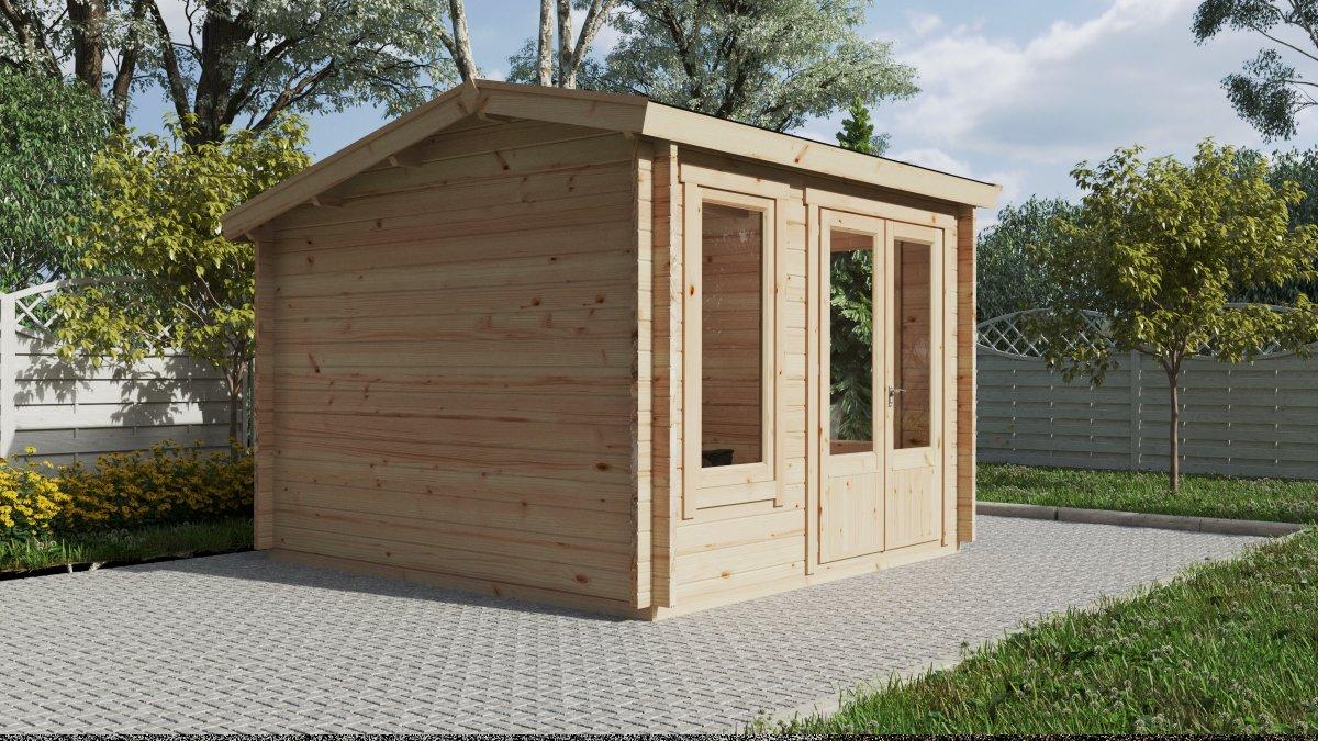 Mini Garden Office 1