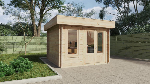 Mini Garden Office-2 9m2 / 44mm / 3 x 3 m