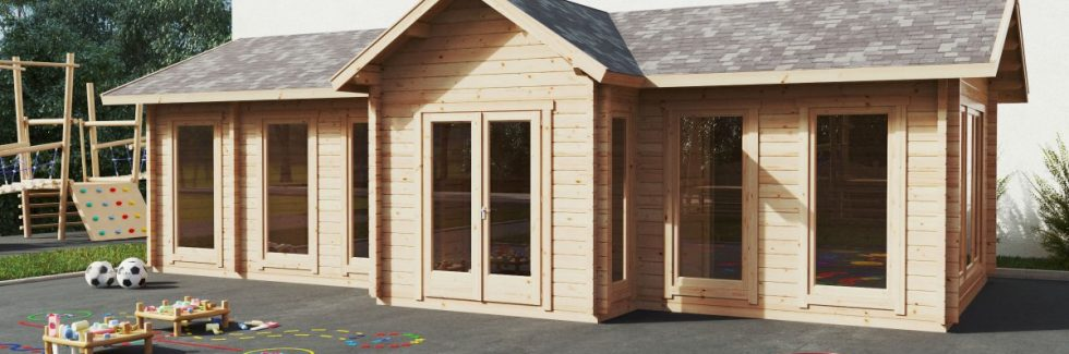 Log Cabins – the Solution to Overcrowded Classrooms