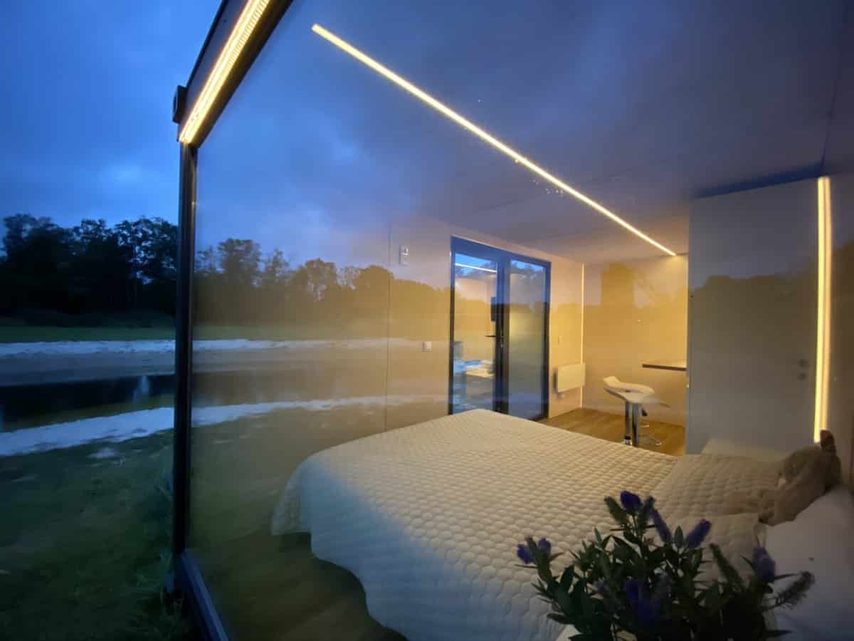 Shipping Container Cabin Nordic