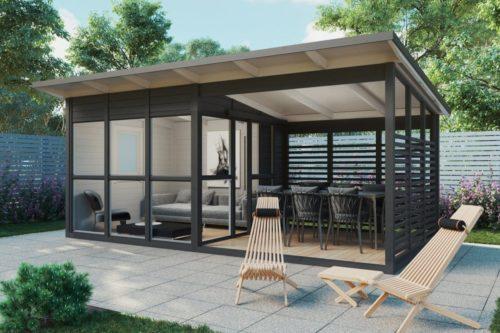 Garden cabin Elias with veranda