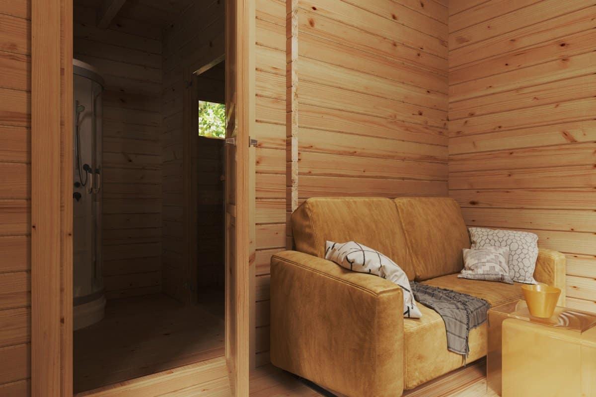 Mini Hansa Sauna Lounge
